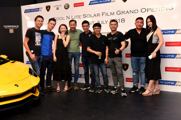 Grand Opening @ Cool n Lite Solar FIlm